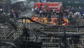 Indonesia fireworks factory fire leaves 23 dead, dozens injured