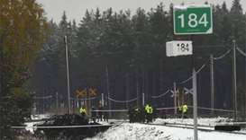 Four killed, 11 injured as train collides with army truck in Finland