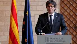 Spain issues arrest warrant for Catalan leader