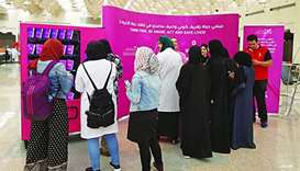 HBKU organises outreach for breast cancer awareness