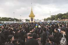 Thais bid final goodbye to late King Bhumibol
