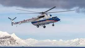 Hopes fade for 8 Russians missing in Arctic helicopter accident