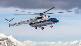 Missing Russian chopper found on Arctic seabed, eight presumed dead