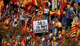 Hundreds of thousands march for unified Spain