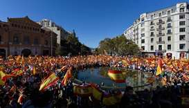 Spain's control over Catalonia to be tested today as work resumes