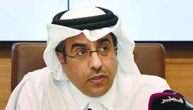 Dr Ali bin Smaikh al-Marri speaks at Qatar University