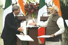 India, Italy mend ties after row over marines
