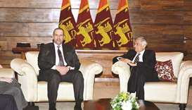 Minister meets Lankan PM