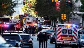 Several killed after vehicle drives down New York City bike path