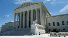The building of the US Supreme Court