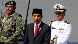 Indonesia's president says military should stay out of politics