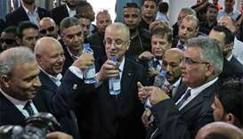 Palestinian PM leaves Gaza after reconciliation visit