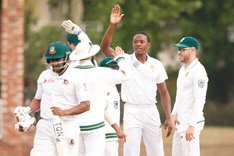 Rabada main second Test threat to Bangladesh