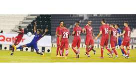 Ali scores brace as Qatar beat Singapore in friendly