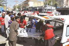 14 killed as van collides with bus