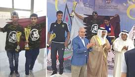 Qatar sailors shine in Kuwait