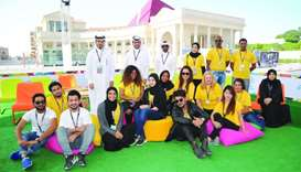 Ajyal Youth Film Festival 2016 volunteers