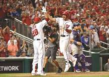 Nationals level series with Cubs, Dodgers beat D'Backs again