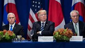 Trump says N. Korea diplomacy has failed, 'Only one thing will work'