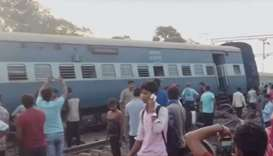 Six dead, 60 injured after train derails in India