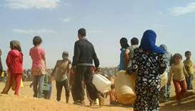 UN calls for health care access to Syrian refugees near Jordan border