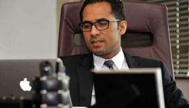 Tanzanian businessman Mohammed Dewji at his office in Dar es Salaam