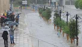 Flashfloods in southern France