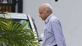 Indian minister MJ Akbar