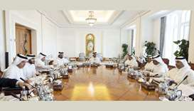 His Highness the Amir Sheikh Tamim bin Hamad al-Thani chairs Supreme Council for Economic Affairs an