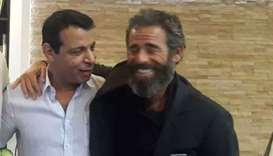 The former head of security for the Palestinian Authority Mohammed Dahlan (left) and Spear Operation