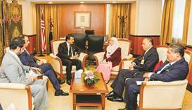 Al-Marri holds meetings in Malaysia