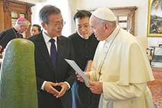 Pope gets invite to N Korea, indicates  will consider it