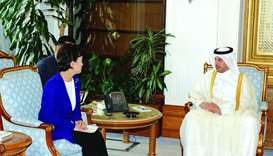 PM, S Korean minister review ties