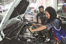 The female car mechanic driving change in Pakistan