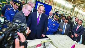 HE the Deputy Prime Minister and Minister of State for Defence Dr Khalid bin Mohamed al-Attiyah at W