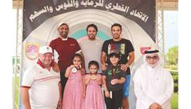 Rashid and Reem claim gold medals in skeet