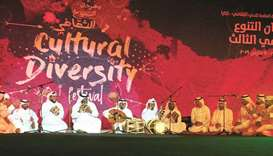 Cultural Diversity Festival kicks off with traditional Qatari music