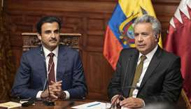 Amir, Ecuador President hold session of talks