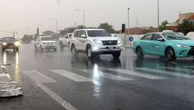 Chance of scattered light rain: Qatar Met