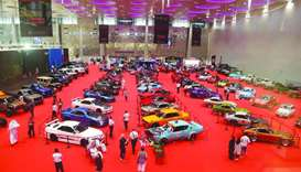 Mawater Centre displayed 87 classical and modified cars, and motorbikes at QMS 2018.