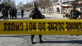 Suicide bombing kills five, wounds 15 in central Afghanistan