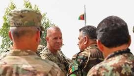 US general wounded in last week's Afghan insider attack