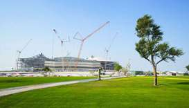 SC announces first home-grown turf planted around Qatar 2022 stadium