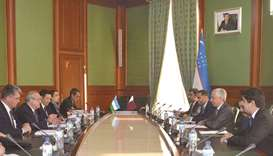 Meeting Uzbekistan and Qatar