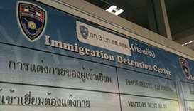Bangkok Immigration Detention Center