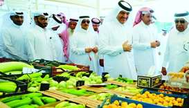 Minister opens new yard for local farm produce
