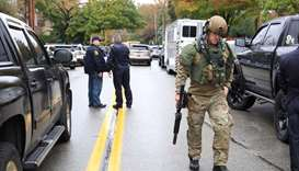 At least 4 reported dead, 12 injured in shooting at Pittsburgh synagogue