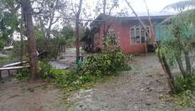 Damages caused by Typhoon Yutu in Isabela province where the typhoon first made landfall in Philippi