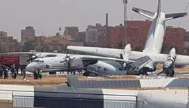 Sudan's main airport shut after military planes collide