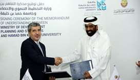 MDPS, HBKU ink pact to exchange knowledge, enhance research